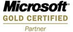 Microsoft Gold Certified Partner.
